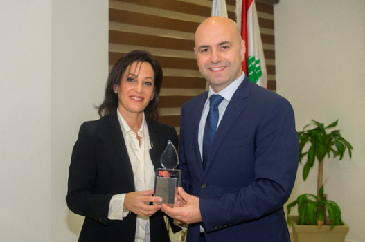 IBloodlink Honours Health Minister. Hasbani: the Ministry Supports the Culture of Blood Donation