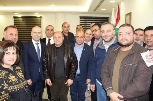 Governmental Hospitals Employees Sit-in Suspended Hasbani: We are Working to Develop Appropriate Frameworks for the Implementation of the Salary Scale