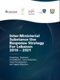 Inter-ministerial Substance Use Response Strategy for Lebanon 2016-2021